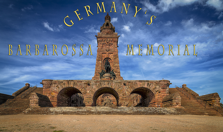things to do in germany, barbarossa monument