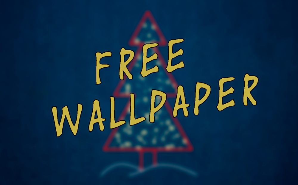 Free wallpaper – Christmas theme No. 3