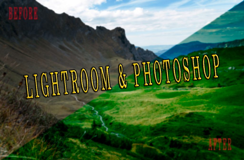 The reason you should use Lightroom and Photoshop in photography