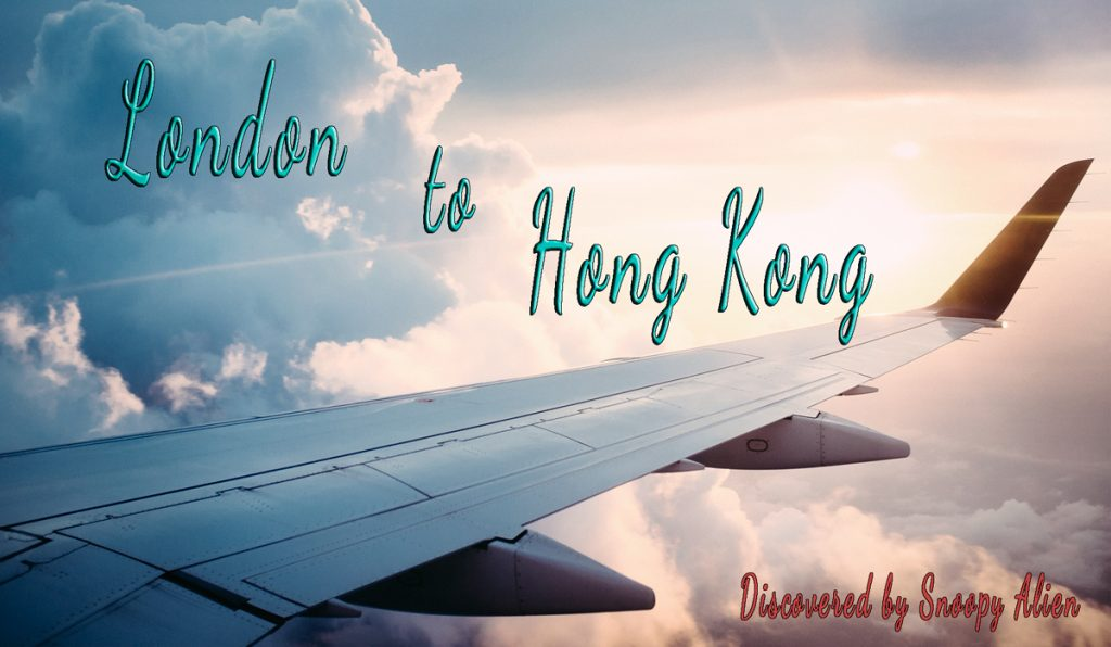 London to Hong Kong for only £410 roundtrip