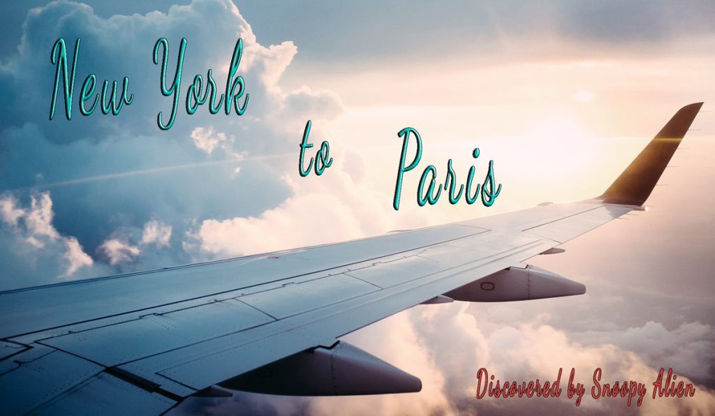 New York to Paris for only $262