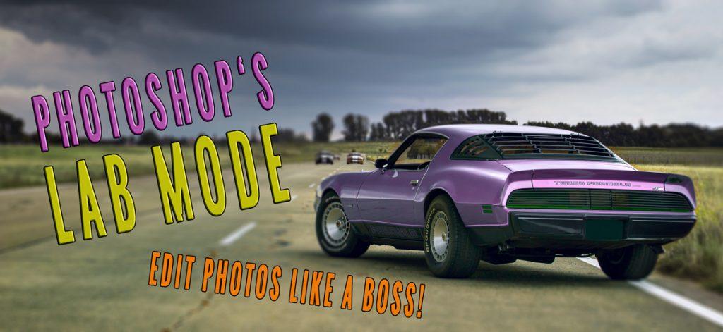 Photoshop's LAB mode – edit photos like a boss