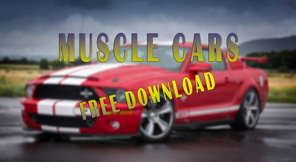 Muscle Cars – free download