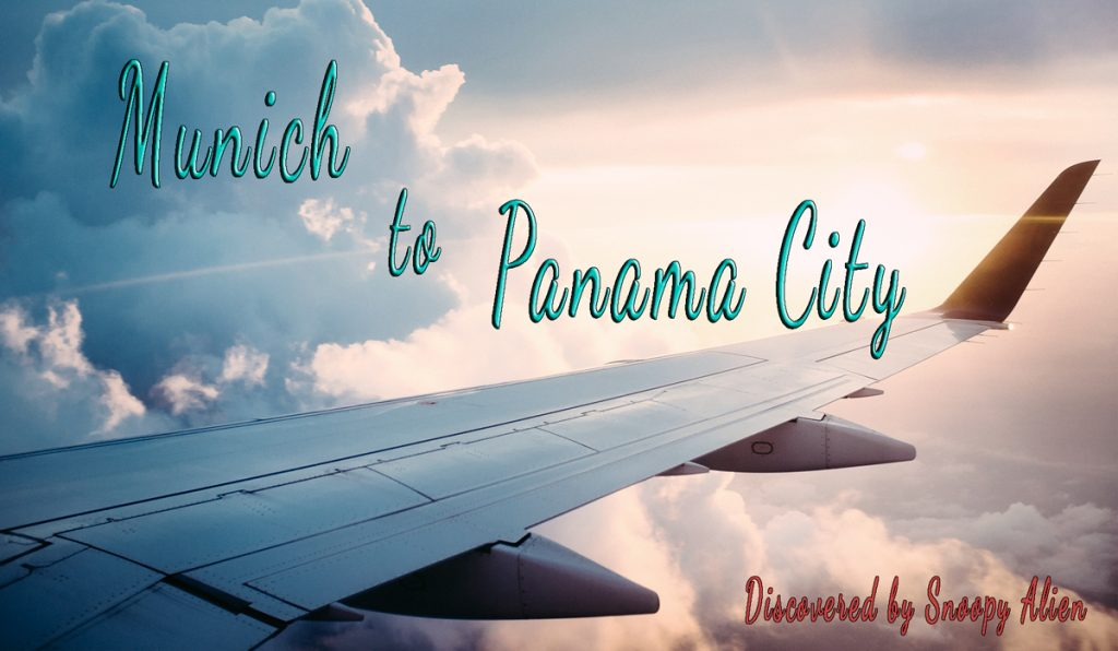 Expired: Munich to Panama City for €378,- (price drop)