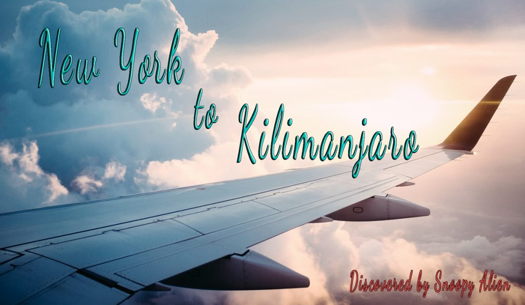 New York to Kilimanjaro for $694 – save about 50%