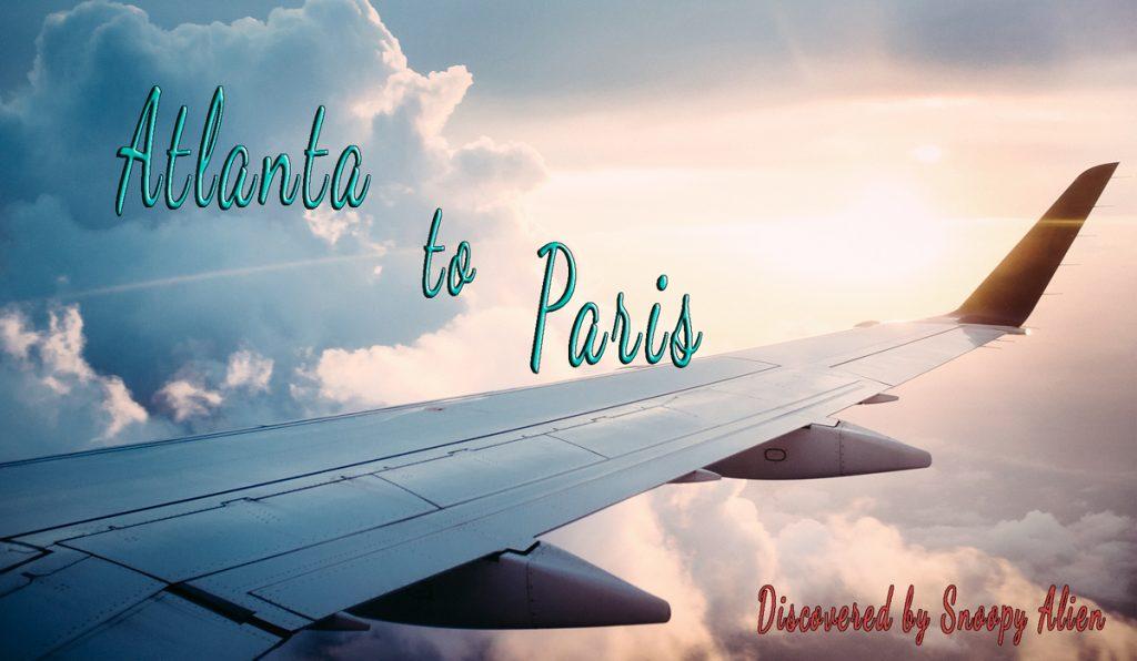 Atlanta to Paris basic economy for only $290
