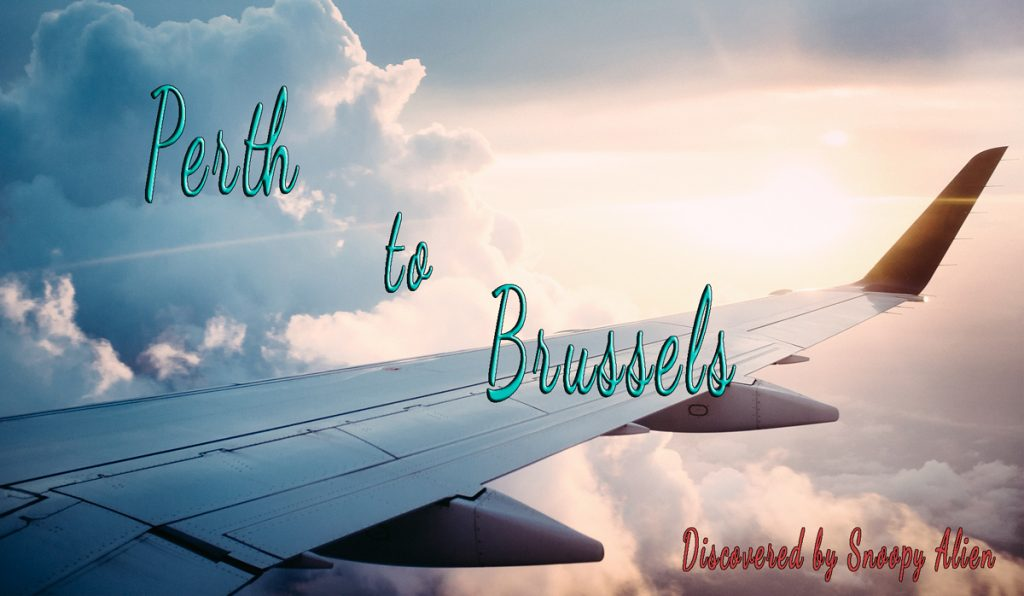 Perth to Brussels for only 902 AUD