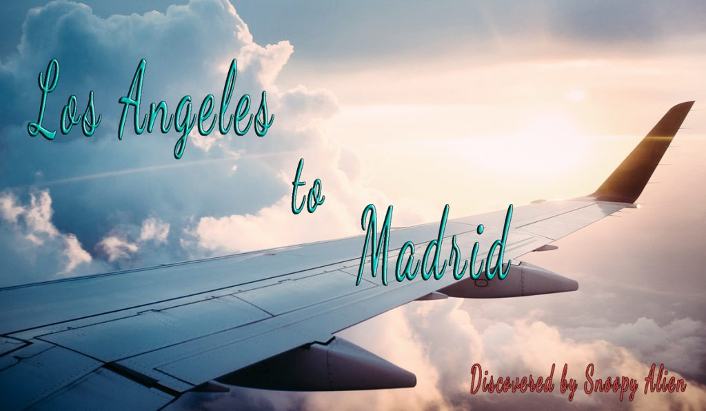 Los Angeles to Madrid for only $395 (basic economy, nonstop)