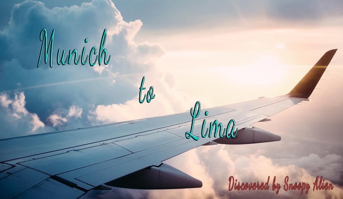 munich to lima cheap flight