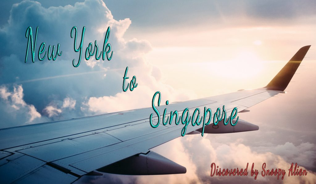 New York to Singapore for only $611